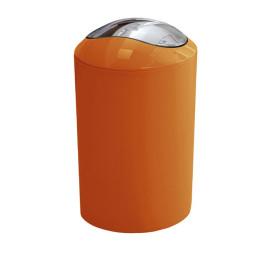 GLOSSY odpadkový koš výklopný 5l, oranžový (5063488858)