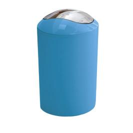 GLOSSY odpadkový koš výklopný 5l, světle modrý (5063766858)