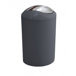 GLOSSY odpadkový koš výklopný 5l, antracit (5063901858)