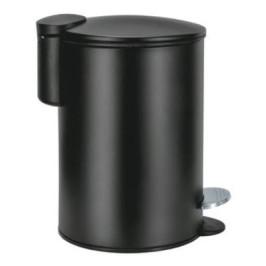 SILENCE koupelnový koš softclose 3l, černý (8419926858)