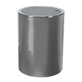 CLAP odpadkový koš výklopný 5 litrů, šedý (5829977858)