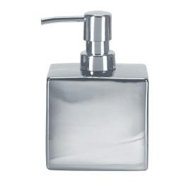 GLAMOUR dávkovač mýdla flakon, stříbrný (5065124854)