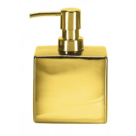 GLAMOUR dávkovač mýdla flakon, zlatý (5065125854)