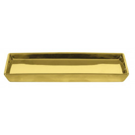 GLAMOUR miska, zlatá (5065125885)