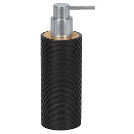 KYOTO dávkovač mýdla na postavení, černý/bamboo (5079926854)