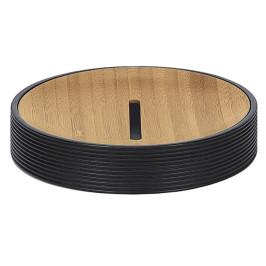KYOTO mýdlenka na postavení, černá/bamboo (5079926853)