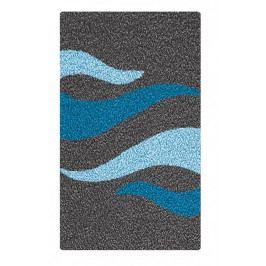 FLAME koupelnová předložka 60x90cm, modrá (2706766519)
