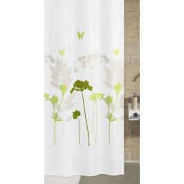 BARCELONA sprchový závěs 180x200cm, polyester zelený (5188602305)