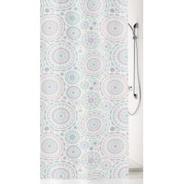 BARCELONA sprchový závěs 180x200cm, polyester fialový (5188436305)
