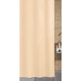 KITO sprchový závěs 120x200cm, polyester natur (4937202238)