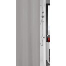 KITO sprchový závěs 120x200cm, polyester šedý (4937905238)