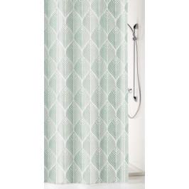NOVA sprchový závěs 180x200cm, polyester šedý (5274977305)