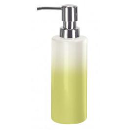 PHOENIX dávkovač mýdla na postavení, porcelán bílý/zelený (5816605854)