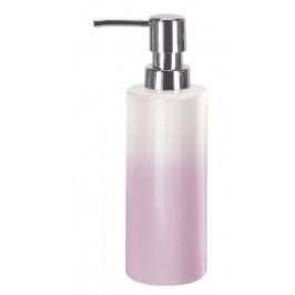 PHOENIX dávkovač mýdla na postavení, bílý/růžový (5816858854)
