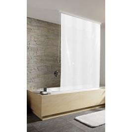 Sprchová roleta 128 x 240 cm, bílá (3321109747)