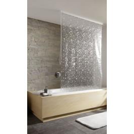 Sprchová roleta 128 x 240 cm, perleťová (3321213747)