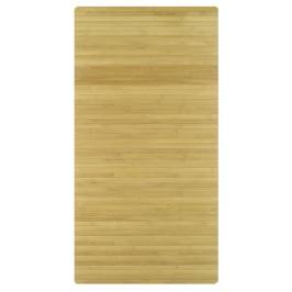 BAMBOO koupelnová předložka 50x80cm, přírodní bambus (5043202207)