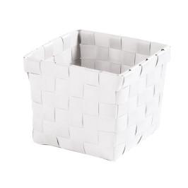 BRAVA košík malý 11,5x10x11,5cm, bílý (5862100059)