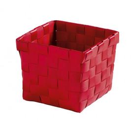 BRAVA košík malý 11,5x10x11,5cm, červený (5862459059)