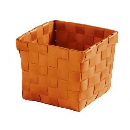 BRAVA košík malý 11,5x10x11,5cm, oranžový (5862488059)