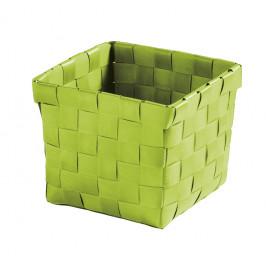 BRAVA košík malý 11,5x10x11,5cm, zelený (5862625059)
