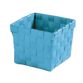 BRAVA košík malý 11,5x10x11,5cm, tyrkysový (5862766059)