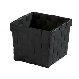 BRAVA košík malý 11,5x10x11,5cm, černý (5862926059)