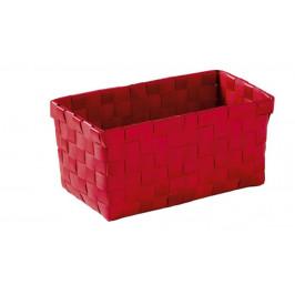 BRAVA košík střední 21,5x9,5x11cm, červený (5862459060)