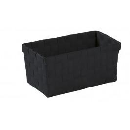 BRAVA košík střední 21,5x9,5x11cm, černý (5862926060)