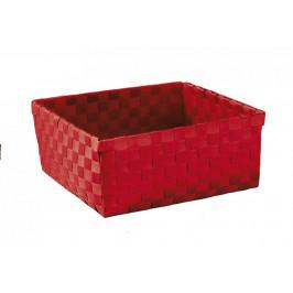 BRAVA košík velký 23x10,5x23cm, červený (5862459061)