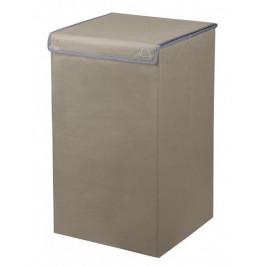 Koš na prádlo VOLTA 55 litrů, tmavě hnědý (5831271860)