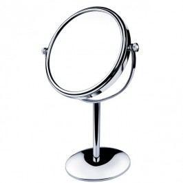Kosmetické stojánkové zvětšovací zrcátko pr.15cm, 3xZOOM, chrom (ZR 3892B-26)