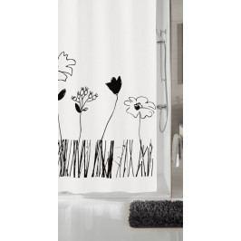 GRACE sprchový závěs 180x200cm, PVC kytka (5200185305)