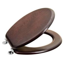 AQUALINE WC sedátko, HDF, ořech (1705-11)