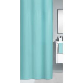 KITO sprchový závěs 120x200cm, polyester světle modrý (4937607238)
