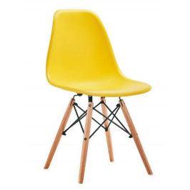 Jídelní židle MODENA, žlutá