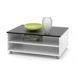 MB Domus Konferenční stolek ZU05, černá/bílá