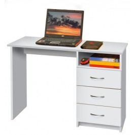IDEA Psací stůl P44-I, bílá