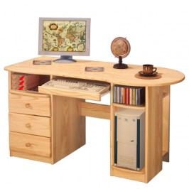 Smarshop Dřevěný psací stůl P8843-I, masiv borovice
