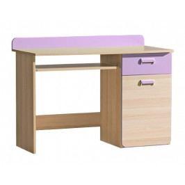 Tempo Kondela Ego stůl L10 jasan/fialová