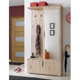 Předsíň CUBA (věšák, botník, zrcadlo, skříň), sanremo