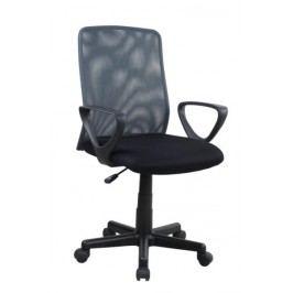 Kancelářské křeslo ALLEX, černá/šedá