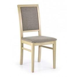 Smartshop Jídelní židle SYLWEK 1, dub sonoma/látka