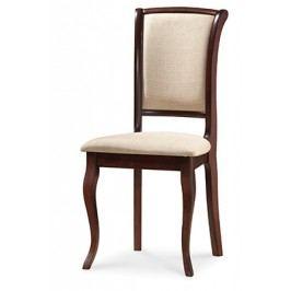 Smartshop Dřevěná židle MN-SC, tmavý ořech