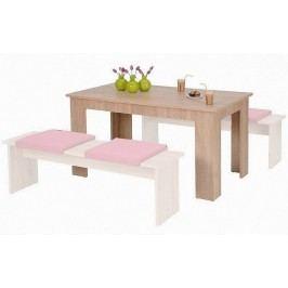 Smartshop Stůl MIUNCHEN, dub sonoma