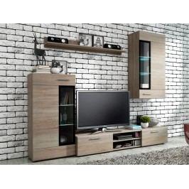 Smartshop Obývací stěna TANGO, dub sonoma