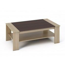 Smartshop BERN konferenční stolek, dub sonoma/wenge