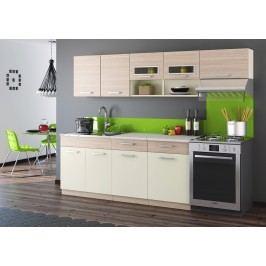Smartshop Kuchyně MORENO II 180/240 cm, cocobolo