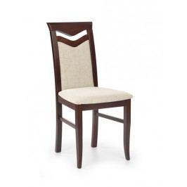 Jídelní židle CITRONE, ořech tmavý