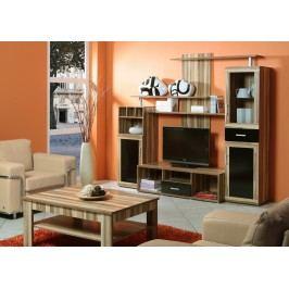 Hicoon, obývací stěna, baltimore/černá